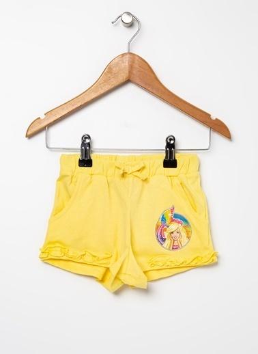 Barbie Şort Sarı